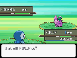 how to start a new game on pokemon platinum