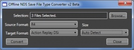 Thumbnail 1 for UniqueGeeks Offline Save File Type Converter