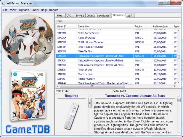 telecharger wii backup manager
