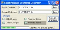 Thumbnail 1 for Cheat Database Changelog Generator