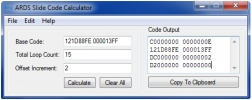 Thumbnail 1 for ARDS Slide Code Calculator