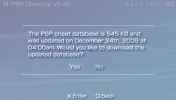 Thumbnail 3 for PSP CheatUp